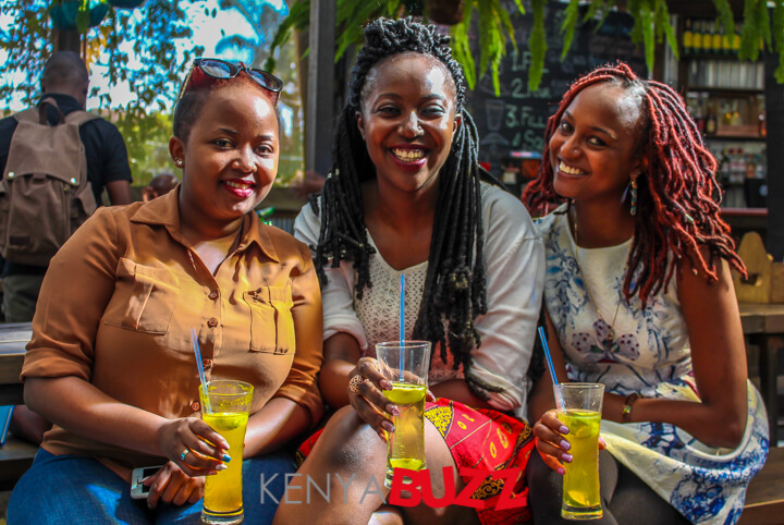 Wahida,Sheila and Njeri from EatOut