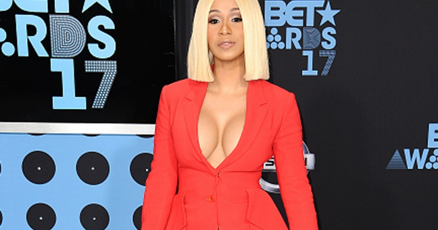 Female Rapper, Cardi B Makes History with No. 1 Single on Billboard Hot 100