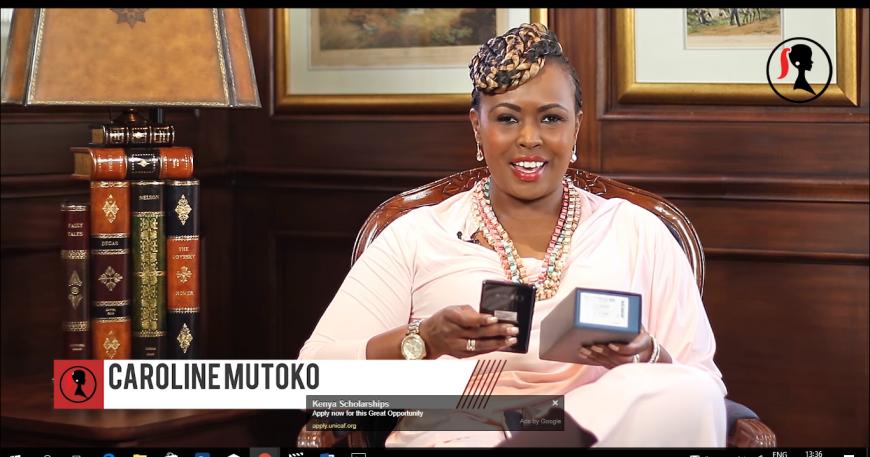 "Kenyans Roast Caroline Mutoko's ""Failed"" Samsung Note 8 Review"