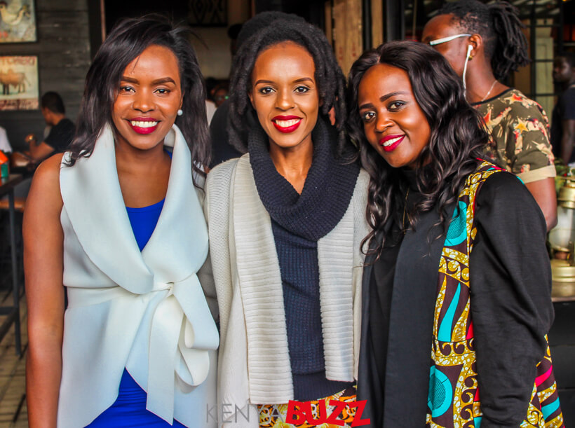 All Girls Together For Jahmby at Nyama Mama(25/11/2017)