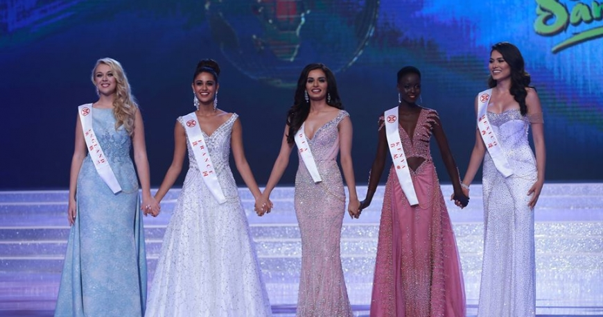 Magline Jeruto Finished in Top 5 in Miss World 2017/2018
