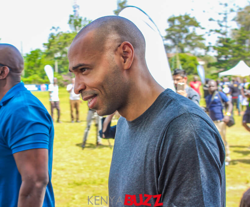 Thierry Henry Training camp at KCB grounds Ruaraka (15/12/2017)