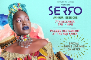 Picazzo Restaurant Presents Kenyan Singer 'Serro' Live This Thursday