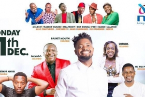 The Second Laugh Festival Set to Host Africa's Biggest Comedians at KICC'S Comes Groundss (Mon Dec 11th 2017 – Nairobi, Kenya)