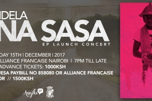 Mandela Set To Launch His Solo Music Project-New EP Titled 'ONA SASA' At Nairobi's Alliance Francaise