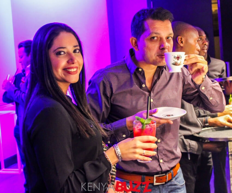 Everyone seemed to be having fun at the  Hendrick's Gin event