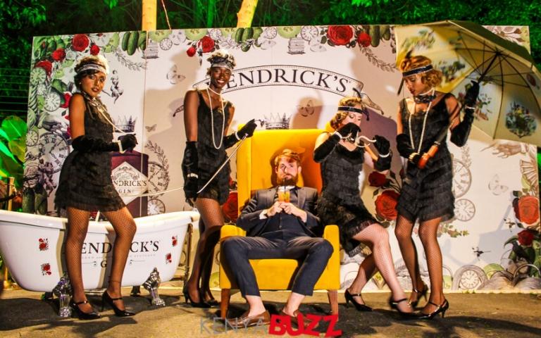 Hendrick's Gin global ambassador Ally Martin and the models