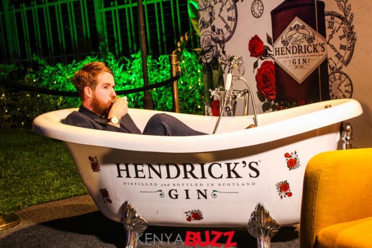 Hendrick's Gin global ambassador Ally Martin