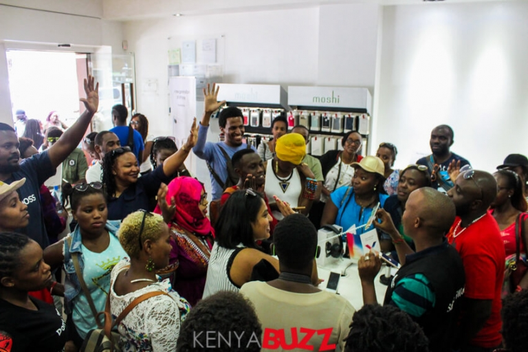 Nairobae IG Tour makes a stop at Salute holdings