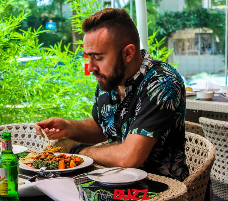 Nairobae IG Tour makes a stop for Lunch at Concord Hotel