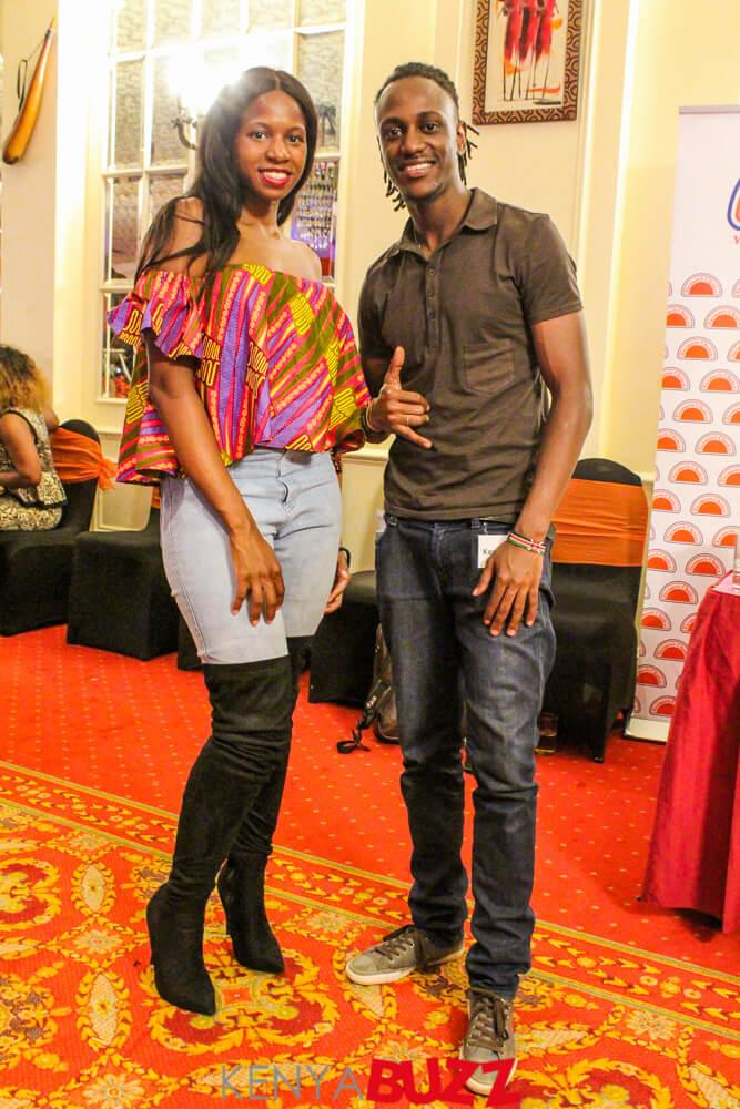 Whitney Nasanga and Jesse Mweu