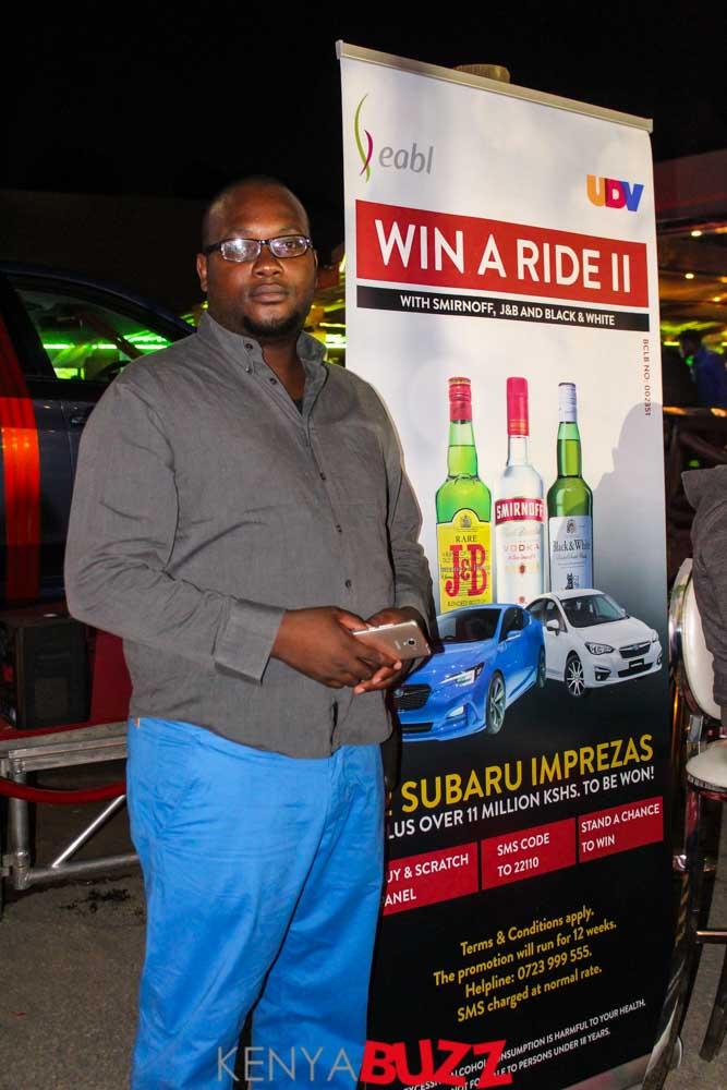 EABL Win a Ride II launch