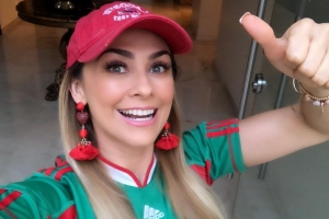Telenovela Stars Show Their Support for Mexico in the World Cup