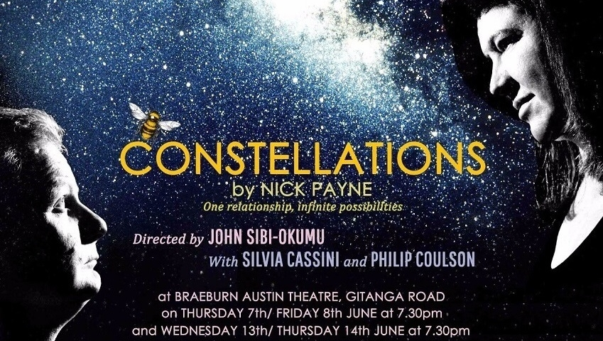 'Constellations' Theatre Review: Broadway Hit Comes to Nairobi, Starring Silvia Cassini and Philip Coulson