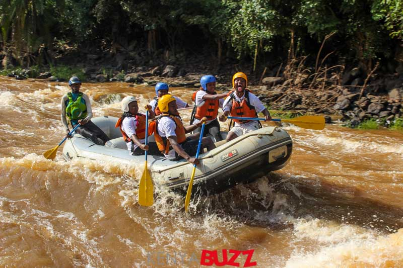 Faraja Cancer Support White Water Rafting Event at Savage Wilderness Sagana (22/6/2018 to 24/6/2018)