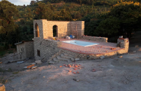 Work at the New Pool and Sauna of the #Observatory Advances
