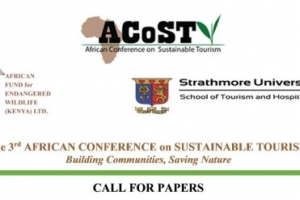 StrathmoreUniversity the Venue for 3rd African Conference on Sustainable Tourism