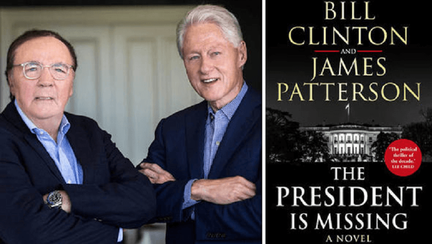 'The President Is Missing': Bill Clinton's Best-Selling Book Being Turned Into a TV Series
