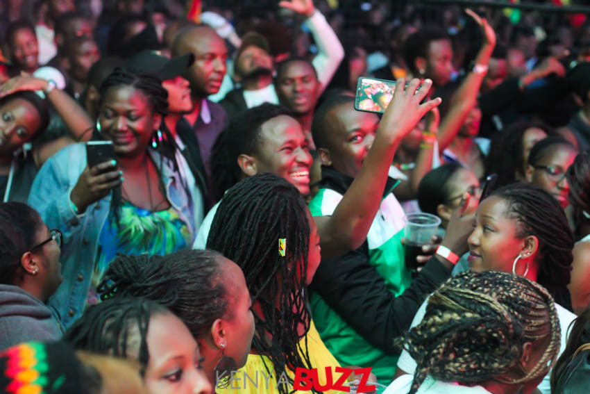 Tarrus Riley Concert at KICC on Mashujaa Day