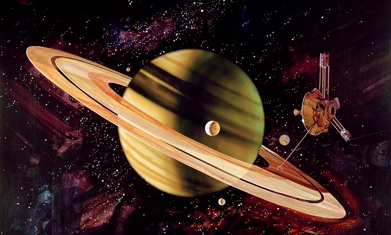 Today in History: Saturn's Dancing Rings
