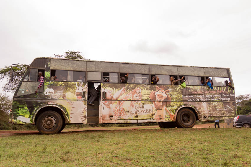 TurnUp Travel's #ChildrenForWildlife at KWS (Pics by Turnup Travel)