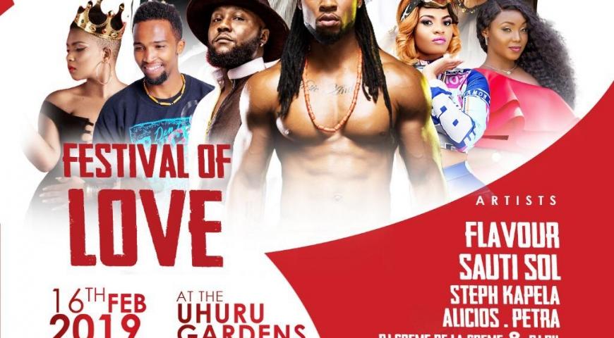 Festival Of Love Presents Flavour N'Abania & Sauti Sol Live In