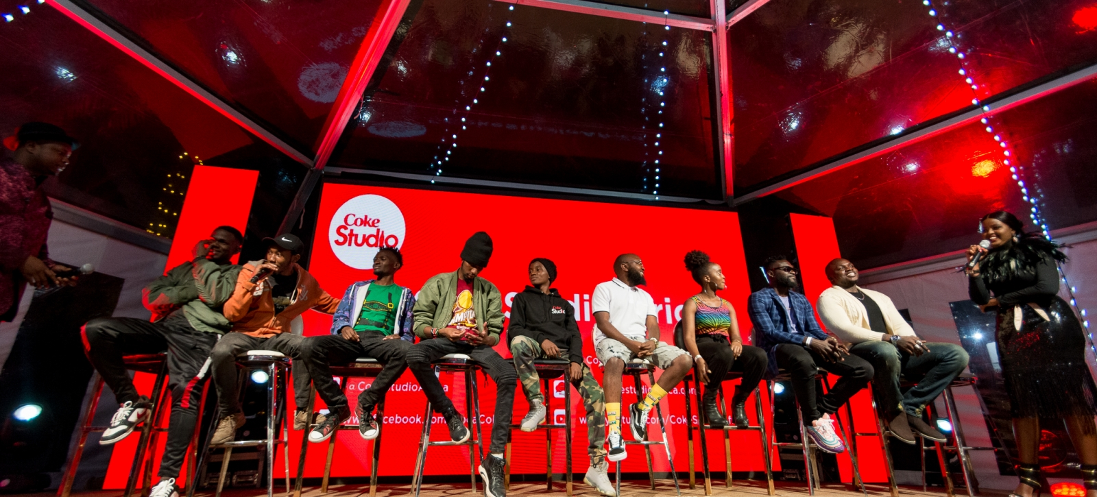 Coke Studio 2019 Launch at Sankara (10/2/2019)