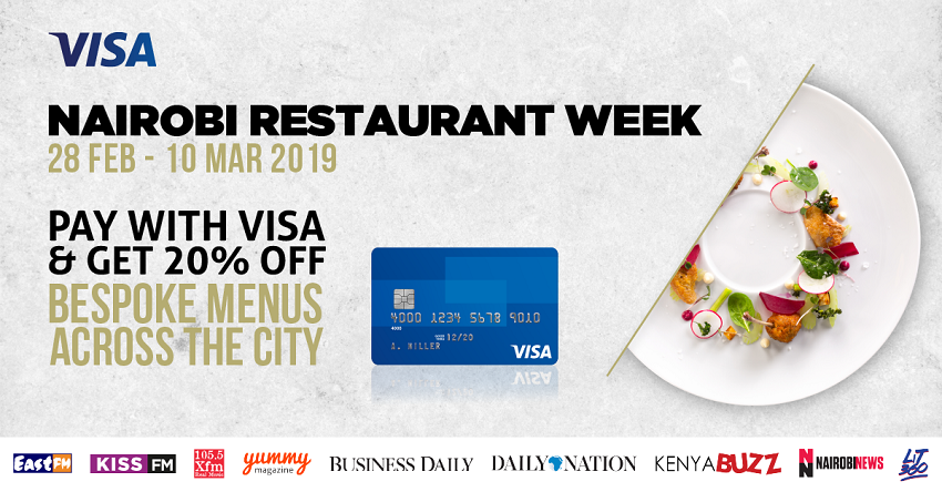 #NRW2019: Top 5 Reasons Not to Miss the Nairobi Restaurant Week