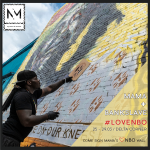 Nyama Mama Partners With Grafitti Artist, Bankslave, for their LOVENBO Campaign