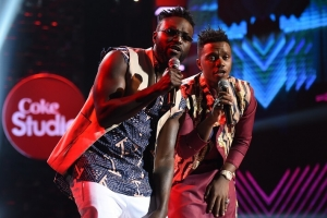 A Walk Down the Musical Aisle for Naiboi and Rayvanny on Coke Studio