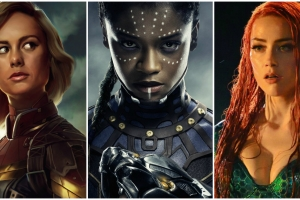 Battle of the Super Sexes; The Glaring Gap Between Male & Female Super Heroes