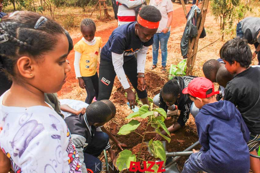 Summit Seekers Kids Tree Planting at Ngong Forest Station (6/4/2019)