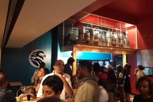 SINA SHAKA Tap Room Opens at Village Market