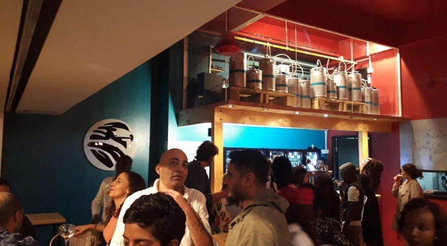 SINA SHAKA Tap Room Opens at Village Market