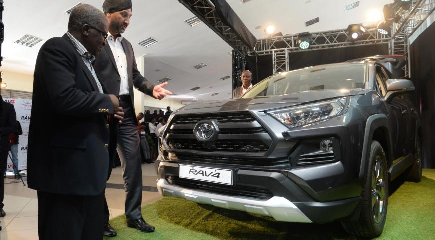 Toyota Kenya Launches Fifth Generation Rav4