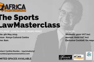 Buy Tickets: ASBM SPORTS LAW MASTERCLASS- A Masterclass, Mixer and Exclusive Evening Cocktail