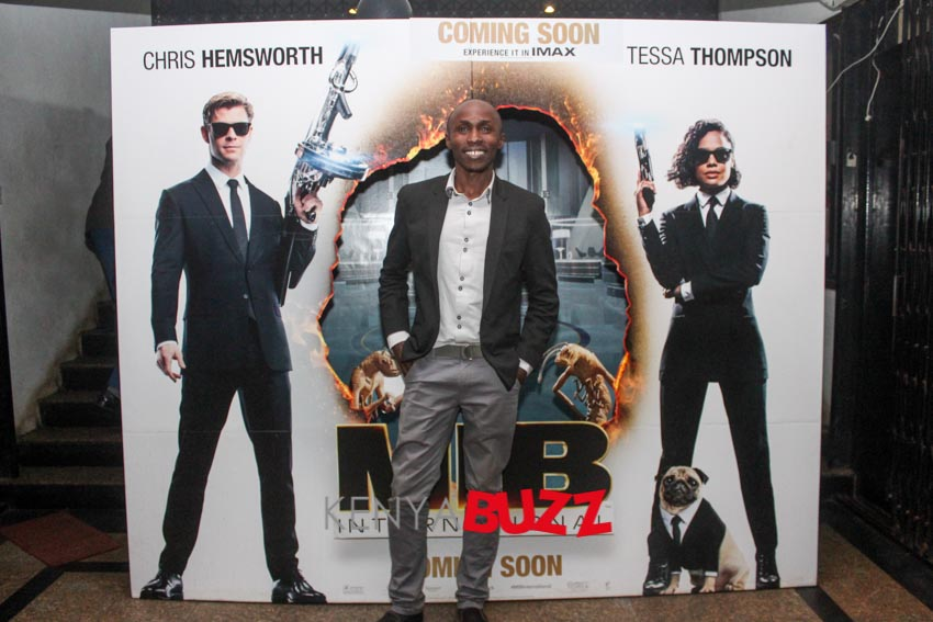 Men In Black Premiere at Anga 20th Century on 12/6/2019