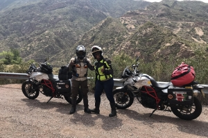 Full Throttle: The Kenyan Couple Travelling the World on Motorbikes