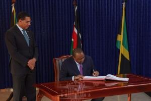 5 Things President Kenyatta Did in Jamaica