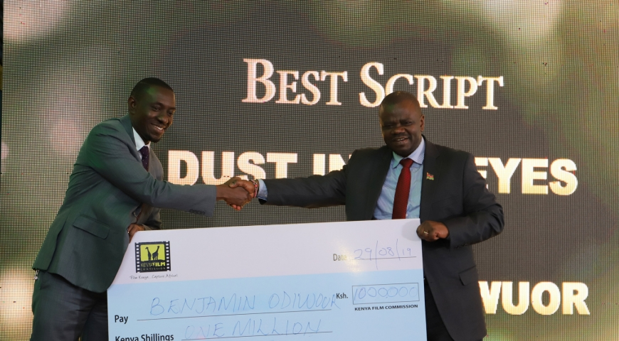 Kenya Film Commission Award Winners Of National Scriptwriting Competition