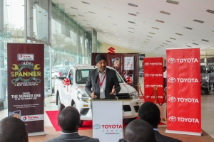 Toyota Kenya and Total Kenya partner to promote the Jua-Kali Sector