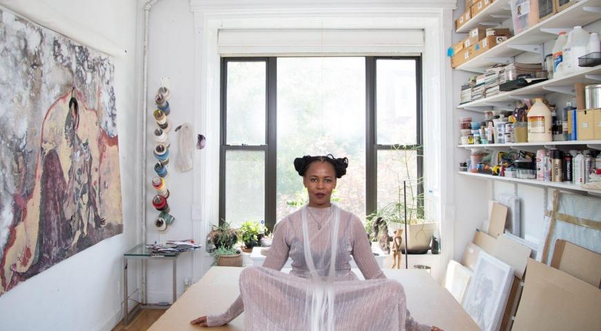 Kenyan Born Artist Wangechi Mutu Exhibits at the Met Museum