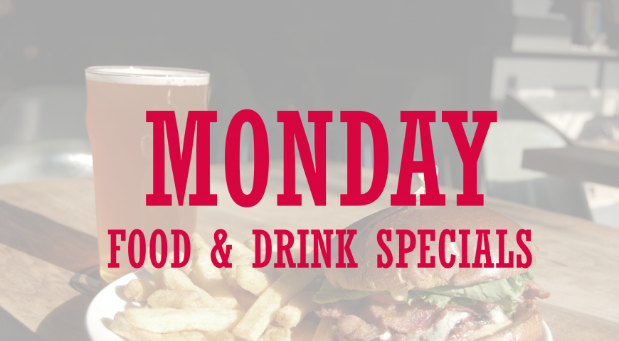 Yummy Monday! Restaurant Deals To Try Out Today!