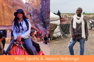 I Did It First! Jessica Nabongo Not The First Black Woman To Globe-trot…Claims Woni
