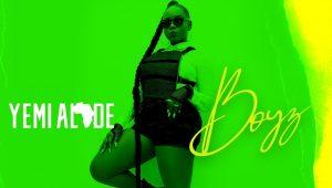Nigerian Artist Yemi Alade Releases 'Boyz' Lyric Video