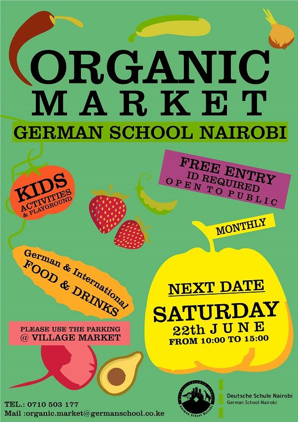 Organic Market German School Nairobi