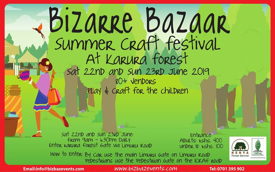 Bizarre Bazaar Summer Craft Festival 2019