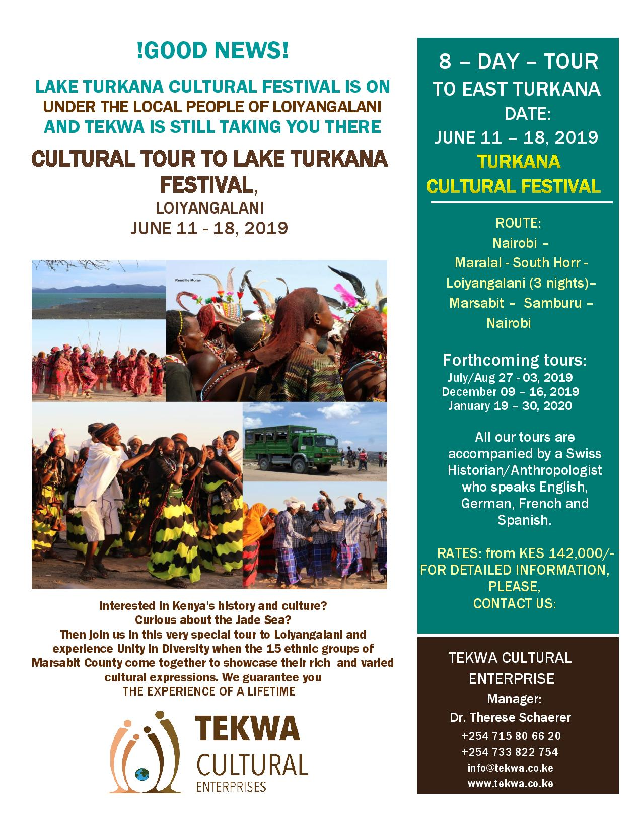 Tour to Lake Turkana Cultural Festival