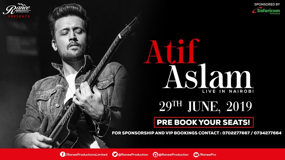 Atif Aslam Live in Nairobi
