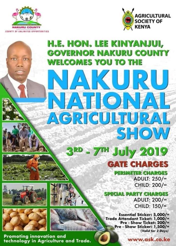 Nakuru National Agricultural Show 2019